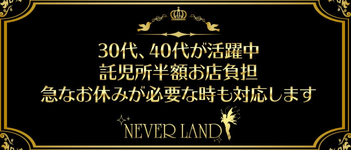 NEVER LAND(ネバーランド) 八王子熟女キャバクラ バナー