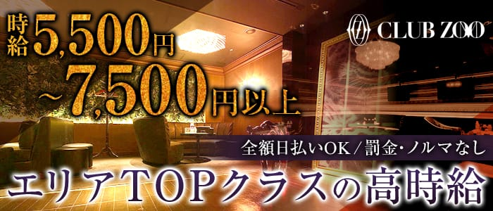 ZOO-ズー広島- 流川キャバクラ バナー