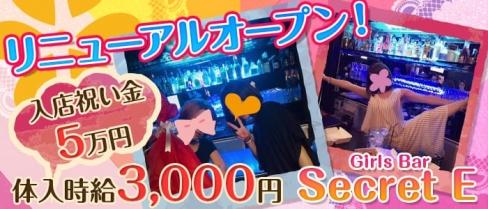 Girls Bar Secret E(シークレットイー)【公式求人情報】(大和ガールズバー)の求人・体験入店情報