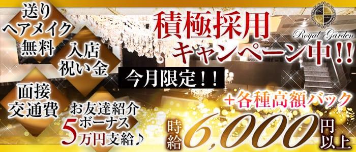ROYAL GARDEN~ロイヤルガーデン~ 関内キャバクラ バナー