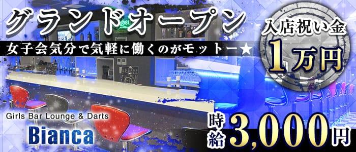 【昼・夜】Girls Bar Lounge  -Bianca-(ビアンカ) 川崎ガールズバー バナー