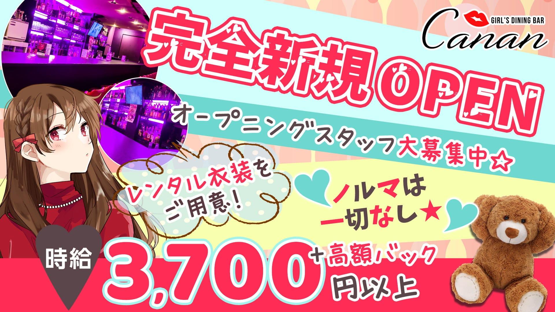 GIRL'S DINING BAR Canan (カナン)【公式求人・体入情報】 神田ガールズバー TOP画像