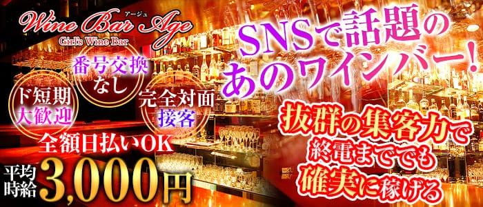 Wine Bar Age(ワインバー・アージュ) 新橋ガールズバー バナー