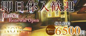 NOW morning(ナウ モーニング) 歌舞伎町昼キャバ・朝キャバ 即日体入募集バナー