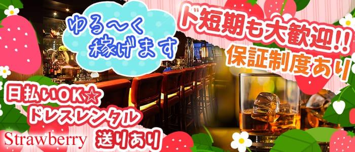 PUB CLUB Strawberry(パブクラブ ストロベリー) 神田ラウンジ バナー