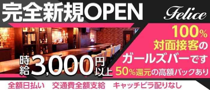 Bar Dining Felice(フェリーチェ)【公式求人・体入情報】 五反田ガールズバー バナー