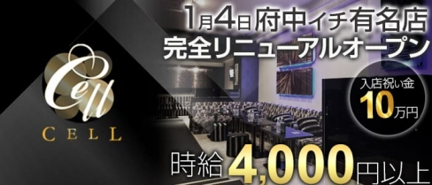 Club CELL(セル)【公式求人情報】(府中キャバクラ)の求人・バイト・体験入店情報