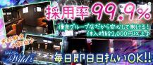 Girl's Bar WILD -ワイルド-【公式求人情報】 バナー