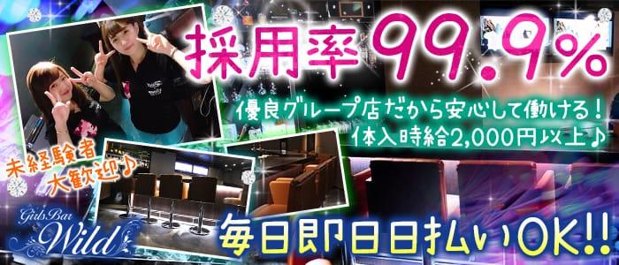Girl's Bar WILD -ワイルド- 錦糸町ガールズバー バナー