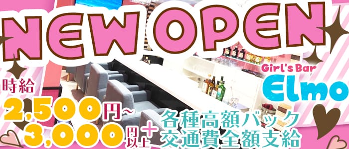 Girls Bar Elmo(ガールズバーエルモ) 赤坂ガールズバー バナー