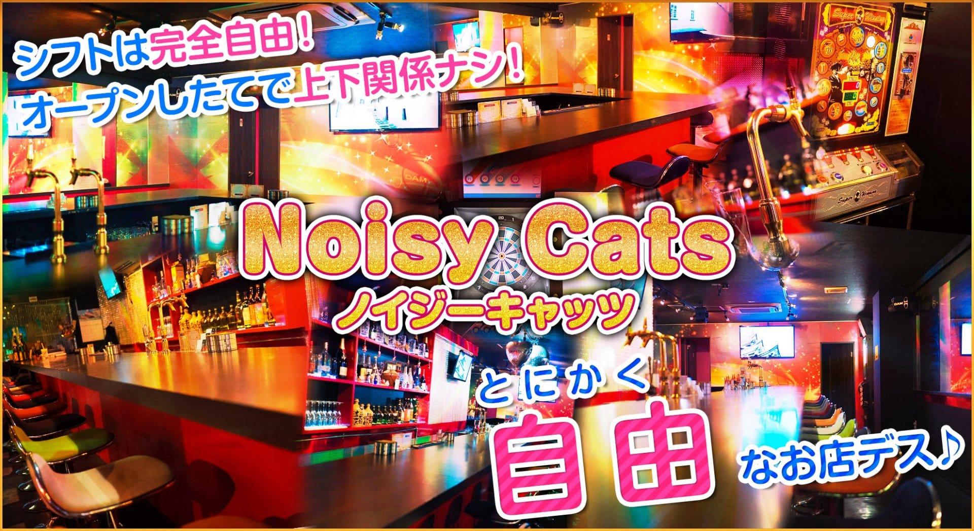 Noisy Cats(ノイジーキャッツ) 上野ガールズバー TOP画像