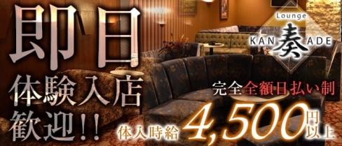 Lounge 奏~カナデ~【公式求人情報】(藤枝ラウンジ)の求人・バイト・体験入店情報