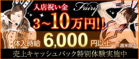 club fairy~フェアリー~【公式求人・体入情報】(藤枝キャバクラ)の求人・体験入店情報