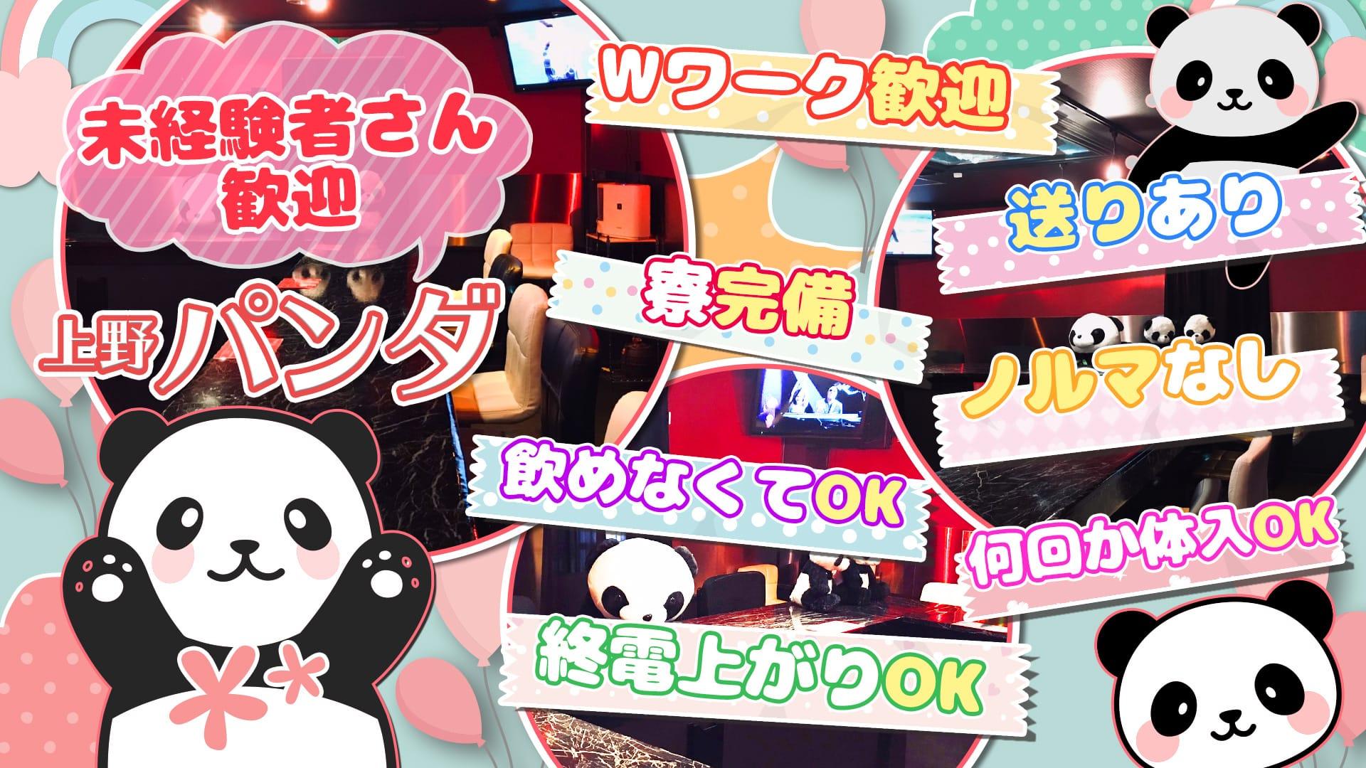 Girl's Bar 上野パンダ 上野ガールズバー TOP画像