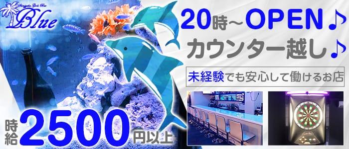 【朝・夜】Girl's Bar Blue(ブルー) 歌舞伎町ガールズバー バナー
