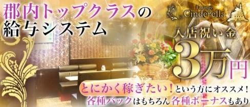 Lounge Cinderella(シンデレラ)【公式求人情報】(月江寺キャバクラ)の求人・バイト・体験入店情報