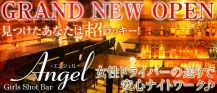 Girls Shot Bar Angel(エンジェル)【公式求人情報】 バナー