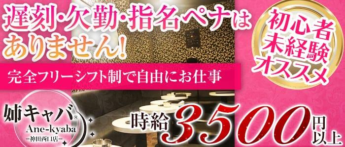 姉キャバ☆駅前西口店 神田姉キャバ・半熟キャバ バナー