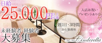 NewClubCinderella(ニュークラブシンデレラ)【公式求人情報】(成田キャバクラ)の求人・バイト・体験入店情報