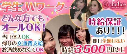 【新小岩】Girl's bar Chelice(シェリス)【公式求人情報】(錦糸町ガールズバー)の求人・バイト・体験入店情報