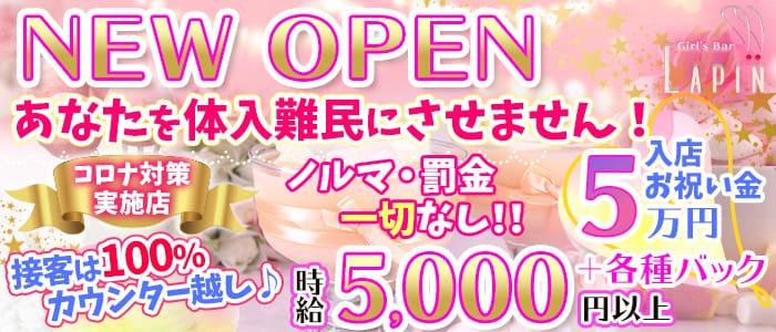 Girl's Bar Lapin(ラパン) 渋谷ガールズバー バナー