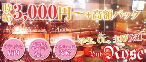 Pub Rose(ローズ)【公式求人情報】(上野スナック)の求人・バイト・体験入店情報