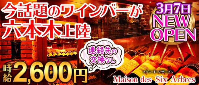 Maison des Six Arbres  (メゾン・ド・シザーブル) 六本木ガールズバー バナー