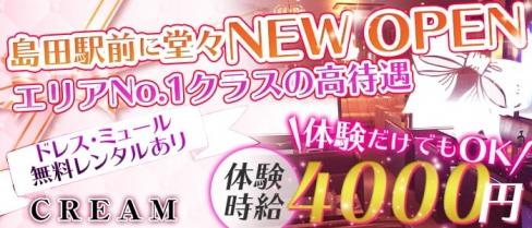 CREAM~クリーム~【公式求人情報】(島田キャバクラ)の求人・バイト・体験入店情報