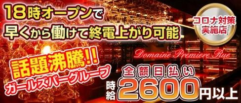 Domaine Premiere Rue(ドメーヌ・プルミエ リュ)【公式求人情報】(歌舞伎町ガールズバー)の求人・バイト・体験入店情報