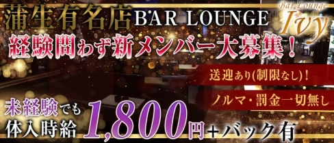 Bar Lounge Ivy(アイヴィー)【公式求人情報】(南越谷ガールズラウンジ)の求人・バイト・体験入店情報