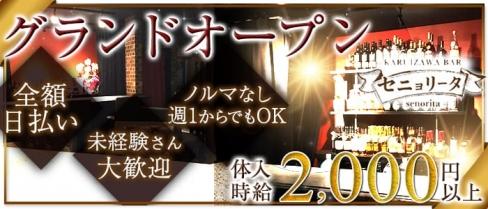 KARUIZAWA BAR セニョリータ【公式求人情報】(軽井沢ガールズバー)の求人・バイト・体験入店情報