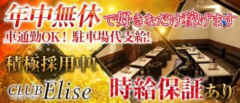 CLUB Elise (エリーゼ)【公式求人情報】(静岡キャバクラ)の求人・体験入店情報
