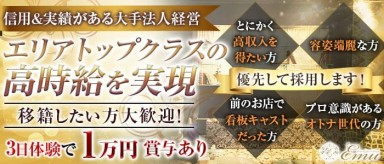 The Upper Lounge Emu(アッパーラウンジエミュ)【公式求人・体入情報】(浜松キャバクラ)の求人・バイト・体験入店情報