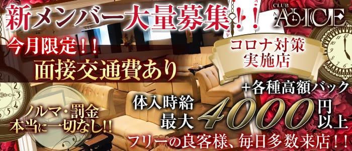 Club ALICE(アリス) 浜松キャバクラ バナー
