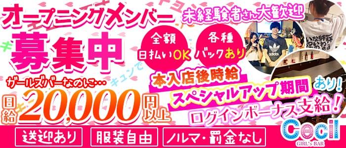 Girls Bar CECIL(セシル)【公式求人・体入情報】 錦糸町ガールズバー バナー