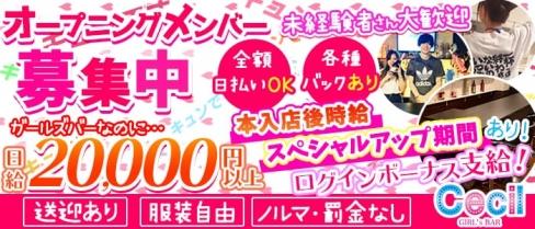 Girls Bar CECIL(セシル)【公式求人情報】(錦糸町ガールズバー)の求人・体験入店情報