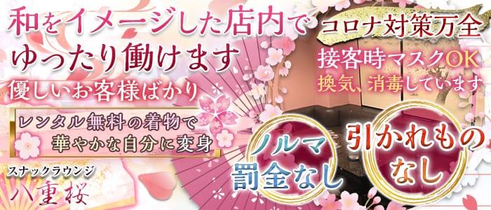 【着物ラウンジ】八重桜(やえざくら) 神田スナック バナー