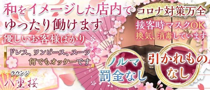 ラウンジ八重桜(やえざくら)【公式求人・体入情報】 神田スナック バナー