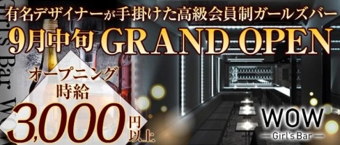 Girl's Bar WOW(ワオ)【公式求人情報】(錦糸町ガールズバー)の求人・バイト・体験入店情報