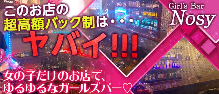 上福岡店 Girl's Bar Nosy(ノジー) 川越ガールズバー バナー