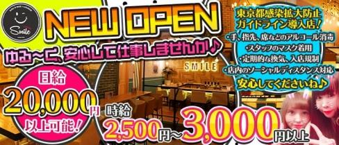 Girls Bar Lounge Smile Terrace(スマイルテラス) 【公式求人情報】(神田ガールズバー)の求人・バイト・体験入店情報