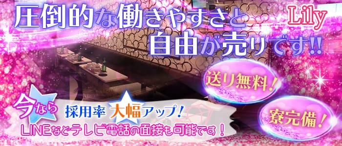 Lily (リリー)【公式求人・体入情報】 水戸キャバクラ バナー