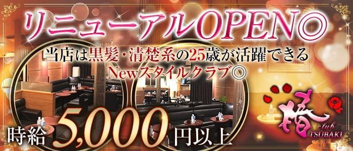 club 椿(クラブ ツバキ)【公式求人・体入情報】 上野ニュークラブ バナー
