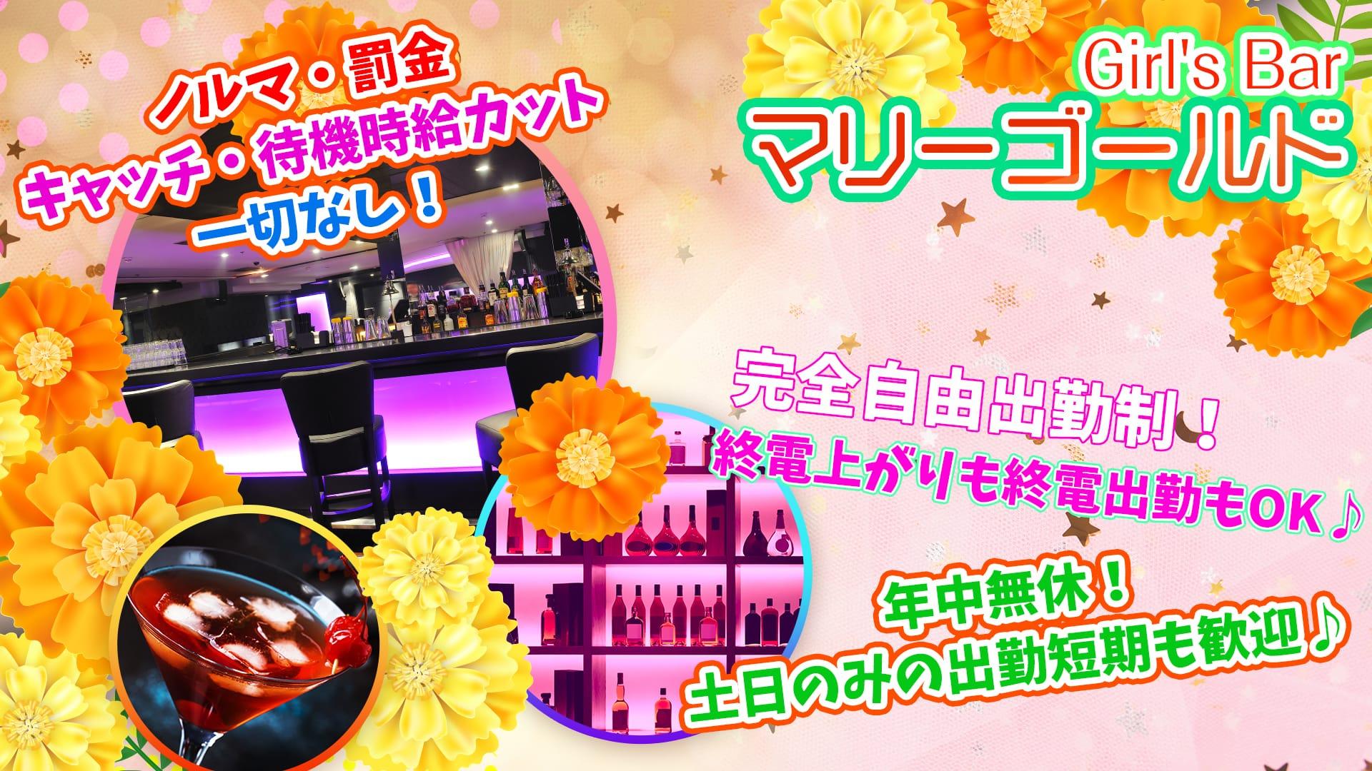 Girl's Bar マリーゴールド【公式求人・体入情報】 錦糸町ガールズバー TOP画像