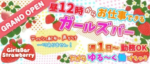 GirlsBar Strawberry(ストロベリー)【公式求人情報】(池袋ガールズバー)の求人・バイト・体験入店情報