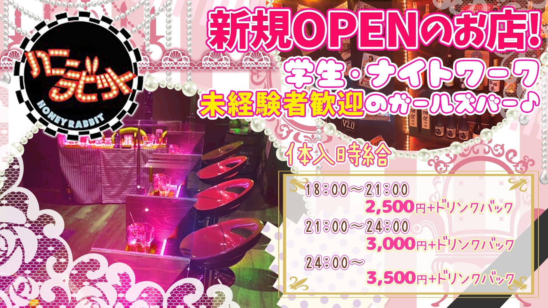 【桜上水コンカフェ】cafe&Bar ハニーラビット 歌舞伎町ガールズバー TOP画像