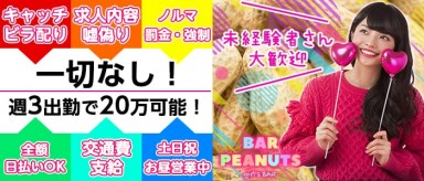 BAR PEANUTS(ピーナッツ)【公式求人情報】(大宮ガールズバー)の求人・バイト・体験入店情報