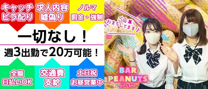 BAR PEANUTS(ピーナッツ)【公式求人・体入情報】 西川口ガールズバー バナー