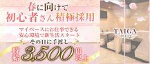 NEW CLUB TAIGA(タイガ)【公式求人・体入情報】 バナー