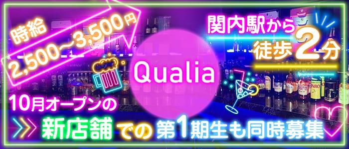 Qualia(クオリア) 関内ガールズバー バナー